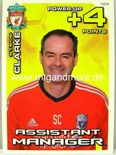 ADRENALYN XL LIVERPOOL FC 11/12 - #124 assistant manager Steve Clarke-Power Up