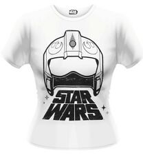 Star Wars The Force Awakens X-Wing Fighter Helmet T-Shirt Femme Woman Taille XL