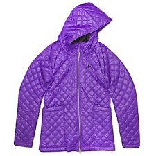 a9d6e7bb0605b adidas Originals Women Between-seasons Jacket Long Parka Quilted Padded  Purple Violett 44