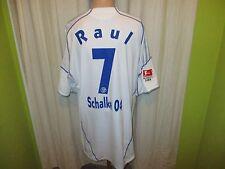 "FC Schalke 04 Adidas Auswärts Trikot 2009/10 ""GAZPROM"" + Nr.7 Raul Gr.XXXL TOP"