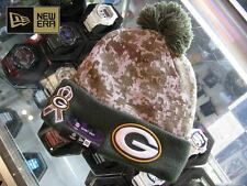 Green Bay Packers On Field Military Salute Winter Knit Hat 2015
