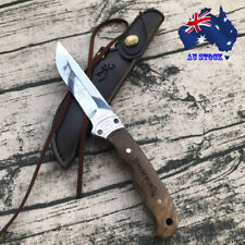 Browning Fixed Blade Knife Hunting Camping Tactical Outdoor Tool SheathAU Stock