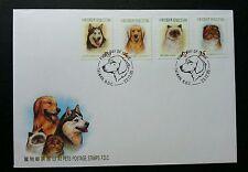 Taiwan Pets 2005 Cat Dog Animal (stamp FDC)
