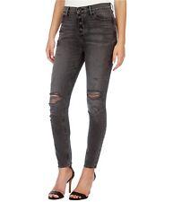 Lucky BRAND Womens Bridgette SKINNY Button Fly Black Jeans Size 29