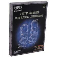 PAPER SHOOTERS 2er PACK EXTRA MAGAZINE TACTICIAN PATRIOT BAUSATZ