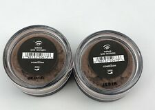 TWO - BareMinerals Eyeshadow COASTLINE Full Size .57 Loose Powder Sealed BROWN