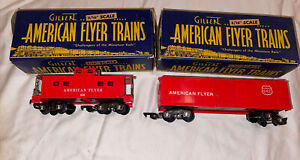 AMERICAN FLYER 1948 Train Cars