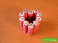 10x LG HE2 18650 2500mAh 35A High Drain Rechargeable Li-ion Battery LGDBHE218650