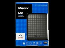 Hard disk esterni neri Seagate di alimentazione USB