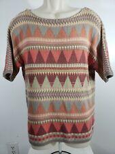 Chaps Denim Aztec Pullover Sweater Size Large 2273
