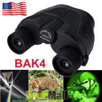 10X25 Binoculars with Night Vision BAK4 Prism High Power Waterproof