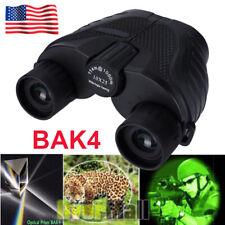 10X25 Binoculars with Night Vision Bak4 Prism High Power Waterproof Us