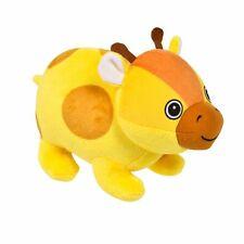 8'' Cute Yellow Giraffe Plush Bubble Pet Jungle Stuff Animal Toy