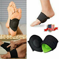 2 Pair Strutz Cushioned Arch Foot Support Shoe insoles Plantar Fasciitis Pain