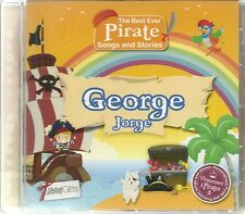 GEORGE/JORGE - THE BEST EVER PIRATE SONGS & STORIES PERSONALISED CHILDREN'S CD