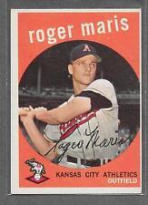 1959 Topps Baseball #202 Roger Maris EX *B4889