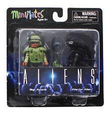 Aliens Minimates Series 1 2-Pack: Sgt. Apone & Warrior Alien