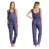 New With Tags Roxy Love Is Enough Purple Jumpsuit Size Medium