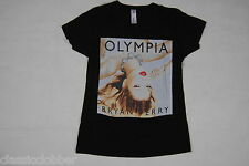 BRYAN FERRY OLYMPIA ALBUM LADIES SKINNY T SHIRT SMALL NEW OFFICIAL KATE MOSS