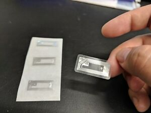 (5-50pcs) NTAG213 NFC Transparent Mini Tag Wet-Inlay RFID smarttags 144 bytes