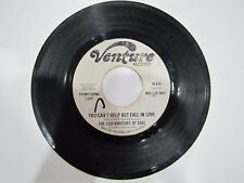 CONTRIBUTORS OF SOUL You Can't Help But Fall In Love VENTURE 628 45 rpm WLP Soul