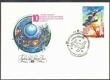 RUSSIA - Lot of 2 Covers 1981, 1990 y - FDC - Salut, BAIKONUR