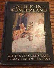 First Ed.1916 Alice in Wonderland w/48 coloured plates by Margaret W. Tarrant