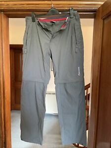 Montane Terra Convert Trousers - Grey Large Regular