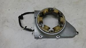 73 Honda CB350G Super Sport Twin CB 350 HM495B. Engine stator alternator cover