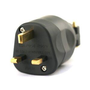 Furutech FI-UK 1363 (G) Gold Mains plug