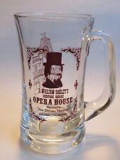 BEER Glass Mug Stein ~ G William OAKLEY'S Opera House theatre ~ Golden, COLORADO