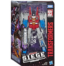 NEW HASBRO Transformers SIEGE WAR FOR CYBERTRON VOYAGER [STARSCREAM] in stock
