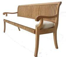 Grade-A Teak Wood Giva Luxurious Garden 6 Feet Bench Outdoor Patio