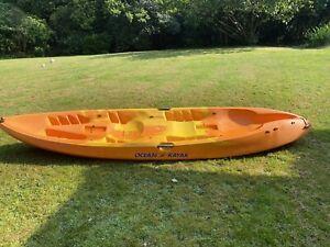 Malibu Two - Ocean Kayak - 2.5 person Orange/yellow Sea Fishing / Sea Sports.