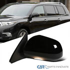 For Toyota 08-13 Highlander Driver Power Heated 7 Pin Side Mirror w/ Puddle Lamp