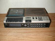 VINTAGE GENERAL ELECTRIC 7-4956B AM/FM DIGITAL CLOCK RADIO CASSETTE RECORDER