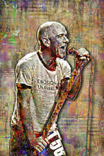 MICHAEL STIPE of R.E.M. 24x36in Poster, Michael Stipe REM Tribute  Free Shipping