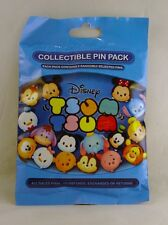 Disney Pin Collectible TSUM TSUM SERIES 1 Mystery Pack Random SEALED Set of 5