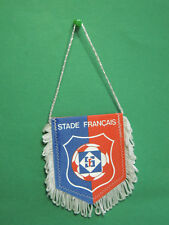 Fanion Foot Stade Français France team équipe club football Pennant
