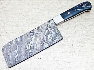 "12"" Kitchen Chef Knife ""Handcrafted Damascus Steel Blade"" Multi Purpose TM-7983"