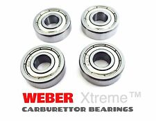 4 x WEBER CARBURETTOR SPINDLE BEARINGS DCOE/DCNF/IDF DELLORTO CARB DHLA/DRLA