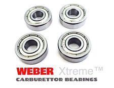 4 X Weber Carburatore perno cuscinetti DCOE / DCNF / IDF DELLORTO DHLA / DRLA