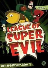 League of Super Evil: Season 3 (DVD, 2014, 2-Disc Set) New