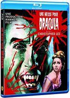 Une messe pour Dracula BLU RAY NEUF SANS BLISTER Film d'horreur Christopher Lee