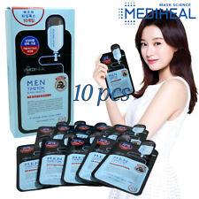 Facial Skin Care [Mediheal] MEN Black Mask Ex.10pcs Wrinkle Pore Care Skin Taut