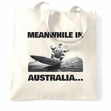 Novedad Navidad Bolso mientras tanto en Australia Santa Navidad Invierno Verano