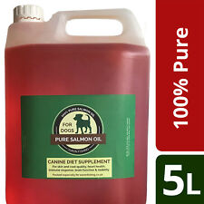 5 Litres Salmon Oil for Dogs 100% Pure