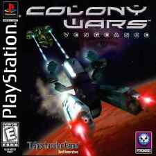 Colony Wars Vengeance PS1 Great Condition Complete Fast Shipping