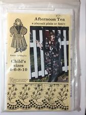 Prairie Clothing Co. Afternoon Tea Playsuit Size 4 6 8 10