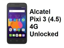 "Alcatel One Touch Pixi 3 4.5"" 4G 5017A (UNLOCKED)+Case Telstra Aldi Boost 850"